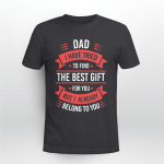 Funny Fathers Day Shirt Dad From Daughter Son Wife For Dad Gifts