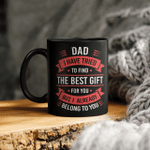 Funny Fathers Day Mug Dad From Daughter Son Wife For Dad Gifts