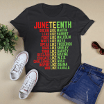 Juneteenth Dream Like Leaders Black Men Women Boys Girls Shirt