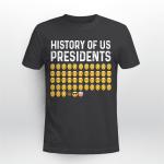 History Of US Presidents Emoji Funny Shirt