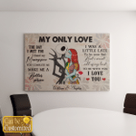Halloween Canvas For Couple - My Only Love The Day I Met You I Found My Missing Piece Personalized Poster  - Canvas