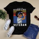 I'm Not The Veteran's Wife I Am The Veteran American Vintage Shirt
