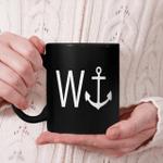 W Anchor Funny Slogan Mug