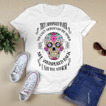 Sugar Skull They whispered to her you can't withstand the storm she whispered back I am the storm T-Shirt