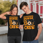 Halloween Registered Boo Crew Witch T-shirt