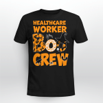 Halloween Healthcare Boo Crew Witch T-shirt