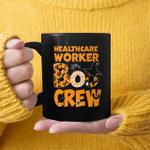 Halloween Healthcare Boo Crew Witch Gift Mug