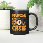 Halloween Nurse Boo Crew Witch Mug Gift