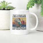 Owl That's What I Do I Read Books I Avoid People I Know Things Vintage Mug Gift