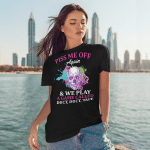 Skull Piss Me Off Again And We Play A Game Called Duct Duct Tape Funny Shirt