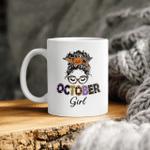 October Birthday Girl Halloween Mug