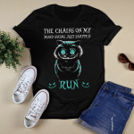 Cat The Chains On My Mood Swing Just Snapped Run Shirt Halloween Gifts