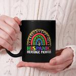 National Hispanic Heritage Month Rainbow All Countries Flags Mug