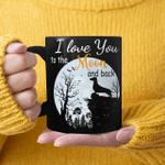 Dachshund Halloween I Love You To The Moon And Back Funny Mug