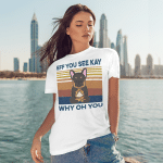 Eff You See Kay Why Oh You Funny French Bulldog Yoga Lover Vintage T-Shirt