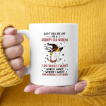 Unicorn Witch Don't Piss Me Off I'm A Grumpy Old Woman I Do What I Want Funny Mug