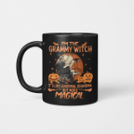 I'm the Grammy Witch It's Like A Normal Grandma But More Magical Halloween Mug