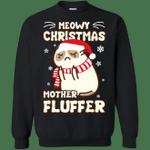 Meowy Christmas Mother Fluffer T Shirt - T-Shirt & Hoodie