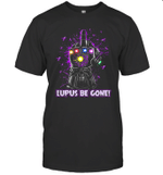Infinity Gaunlet Lupus Be Gone Purple Ribbons Domestic Violence Awareness T shirt Men Women Hoodie Sweatshirt