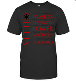 Sith Quotes Passion Strength Power Victory The Force Stars Warss Movie Fan T shirt Men Women Hoodie Sweatshirt