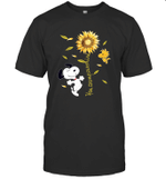 Snoopy And Woodstock You Are My Sunshine Sunflower T shirt2 T shirt Men Women Hoodie Sweatshirt