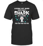 Losing My Mind One Baby Shark At A Time Doo Doo Doo T shirt Men Women Hoodie Sweatshirt