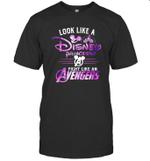 Look Like A Princess Fight Like an Avenger Funny Superheroes Lover Gift for Fan T shirt Men Women Hoodie Sweatshirt