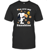 Snoopy And Woodstock You Are My Sunshine Sunflower T shirt T shirt Men Women Hoodie Sweatshirt