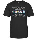 Losing My Mind One Baby Shark At A Time Doo Doo Doo 3 T shirt Men Women Hoodie Sweatshirt