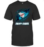 Daddy Shark New Dad Dad And Baby Matching Shirts T shirt Men Women Hoodie Sweatshirt