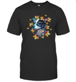 Dog Summer Dog Flower Dog Leaf 2 T shirt Men Women Hoodie Sweatshirt