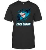 Papa Shark New Grandpa Papa New Gift Grandparents T shirt Men Women Hoodie Sweatshirt
