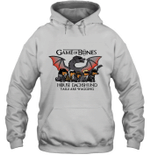 Game Of Bones House Dachshund Tails Are Wagging Gift For Dog Owner Hoodie