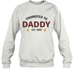 Promoted To Daddy 2020 Beer Lover Drinking Lover Drunk Dad Sweatshirt