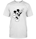 I Just Freaking Love Mickey Ok Gift For Mickey Mouse Cartoon Fan T-Shirt