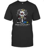 Game Of Bones House Siberian Husky Shit Just GOT Real Funny Dog Lover Gift T-Shirt