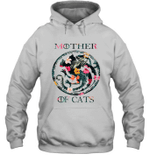 Mother Of Cats Inspired GOT Thrones Funny Cat Mom Gift Hoodie