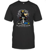 Game Of Bones House Schnauzer Shit Just GOT Real Funny Dog Lover Gift T-Shirt