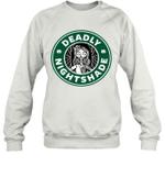 Deadly Nightshade Sally Inspired Funny Coffee Lover Gift Sweatshirt