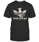 Dracarys GOT Floral Khaleesi Dragon Lover Fan Gift T-Shirt