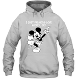 I Just Freaking Love Mickey Ok Gift For Mickey Mouse Cartoon Fan Hoodie
