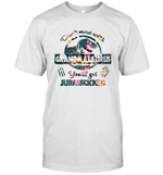 Don't Mess With Grandmasaurus You'll Get Jurasskicked T-Shirt