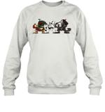Boba Fett Storm Trooper Warriors Stars Warz Character Funny Gift Sweatshirt