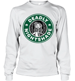 Deadly Nightshade Sally Inspired Funny Coffee Lover Gift Long Sleeve T-Shirt
