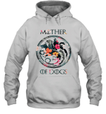 Mother Of Dogs Inspired GOT Thrones Funny Dog Mom Gift Hoodie