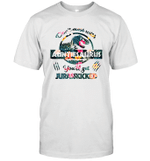 Don't Mess With Auntiesaurus You'll Get Jurasskicked T-Shirt