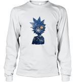 Rick Morty Space Galaxy Universe Arts Science Geek Nerd Fan Long Sleeve T-Shirt