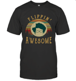 Maurice Moss It Crowd Flippin Awesome Vintage T-Shirt
