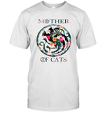 Mother Of Cats Inspired GOT Thrones Funny Cat Mom Gift T-Shirt