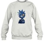 Rick Morty Space Galaxy Universe Arts Science Geek Nerd Fan Sweatshirt